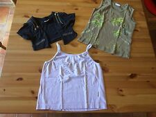 3 Sommer-Shirts  * ZARA (124-132) * LID-MA-R (140) * WAX MAX (140-146)