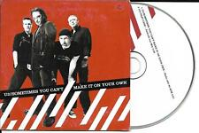 CD CARTONNE CARDSLEEVE U2 (BONO) 2t SOMETIMES YOU CAN'T MAKE IT ON YOUR OWN
