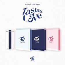 TWICE 10th Mini Album [Taste of Love] 3Ver SET CD+Book+Card+Lenticular+Pre-Order