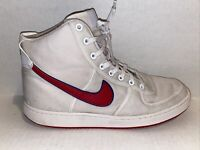Nike Vandal High Supreme White/Gym Red/Deep Royal Blue 318330-101 Size 11.5