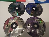 PS1 Fear Effect Sony PlayStation 1 2000 4 Disc Only Tested Video Game