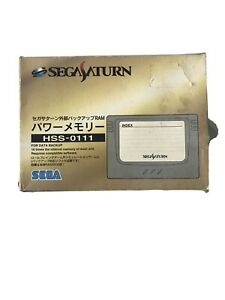 Official Sega Saturn Japanese Memory  Card Cartridge boxed
