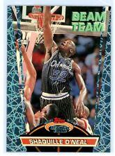 SHAQUILLE O'NEAL 1992 Stadium Club Beam Team Rookie Card RC #21 Orlando Magic