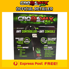 OFFICIAL CRONUSMAX PLUS Controller MOD Rapid Fire PS4 PS3 Xbox One Cronus Max