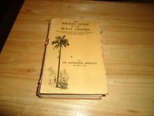 @@@ THE POCKET GUIDE TO THE WEST INDIES MAPS & ILLUSTRATIONS 1939 VGC  @@@
