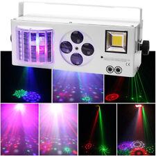 60W RGBW 4in1 LED Pattern Strobe Stage Light DMX Sound DJ Disco Party Club US