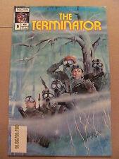 Terminator #6 NOW Comics 1988 Series 9.2 Near Mint-