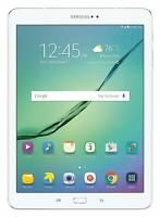 Samsung Galaxy Tab S2 Unlocked SM-T817V 32GB 9.7in Wi-Fi + 4G LTE White FRB