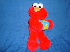 Sesame Street Elmo holding A Block Plush 2006 Nanco 10""