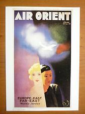 REPRODUCTION AFFICHE AIR ORIENT AIRLINE PAUL COLIN AERONAUTIQUE AVIATION