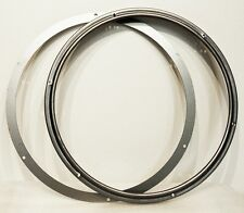 Steel Tokheim 850-950 Gas Pump Bezel w/Glass Retainer