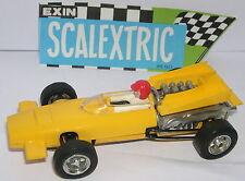 SCALEXTRIC EXIN C-43 McLAREN F1 AMARILLO  TODO ORIGINAL  EXCELENTE