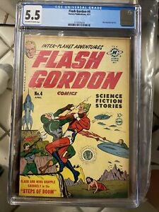 Flash Gordon #4 (1950, Harvey) - CGC 5.5