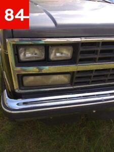 Chevrolet Chevy G10 G20 G30 Sport Van Vandura 4x Headlight Sealed Beam +