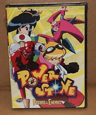 POWER STONE: FRIENDS & ENEMIES Vol. 5 (DVD, 2002) R1 ACTION ANIMATION BRAND NEW