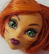 MONSTER HIGH DOLL ORIGINAL 1ST WAVE 1 TORALEI STRIPE HEAD ONLY REPLACEMENT OOAK