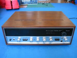 SANSUI 5000X Integrated Stereo Receiver Amplifier Audiophile Vintage Serviced !!