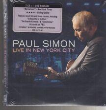 paul simon live in new york city 2x cd 1x dvd new june 6, 2011