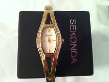 Sekonda ladies gold  plated dress set  watch RRP £49.95
