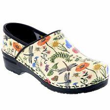BJORK PROFESSIONAL Dahlia Leather Clogs