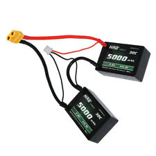 HRB 7.4V 2S 5000mAh Lipo Battery 30C 60C XT60 Hard case RC Traxxas Car ROAR B44