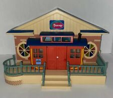 Barney and Friends Train Station Playset Fold Open Toy Lyons 2007