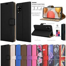 For Samsung Galaxy M12 Case, M127F Premium Leather Flip Stand Wallet Phone Cover