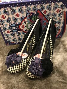 BNIB Irregular Choice Burlesque Beauty Size 38