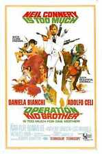 Operation Kid Brother Poster 01 A3 Box Canvas Print
