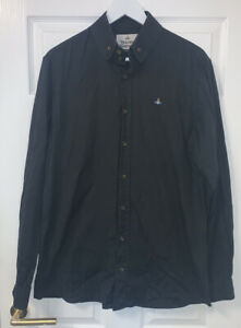 Mens Vivenne Westwood Shirt Black Great Condition 52'