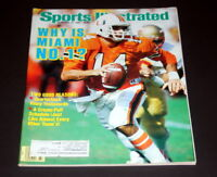 SPORTS ILLUSTRATED NOVEMBER 24 TH 1986 VINNY TESTAVERDE ( MIAMI )