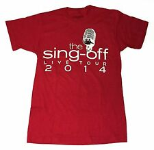The Sing-Off Live Tour 2014 The Filharmonic Small T-Shirt Red Concert Tee
