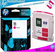 INK MAGENTA 11 ORIGINAL PRINTERS HP CARTRIDGE BLACK HEWLETT PACKARD C4837A