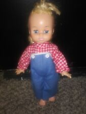 Vintage Horseman Dolls Inc 1967 Blue Eyes Blond Hair Size 13""