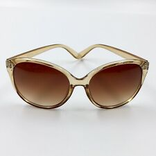 Kenneth Cole Reaction Women's Square Brown Crystal Sunglass KC1283 45F Preowned