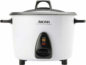 Aroma Rice Cooker & Food Steamer   20 Cup   ARC-360-NGP  Certified Refurbished
