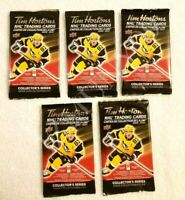 2020-21 TIM HORTONS UD 5 SEALED HOCKEY CARD PACKS LOT Mcdavid Matthews Crosby ?