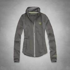 A&F ACTIVE FULL-ZIP women's small