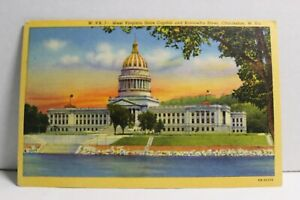 West Virginia State Capitol, Charleston West Virginia  OB-H1272