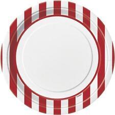 Art de la table de fête assiettes rouge pour la maison