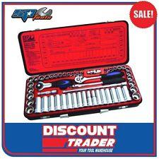"SP Tools 51 Piece 3/8"" Drive 12 & 6pt Metric & Imperial Socket Set - SP20201"