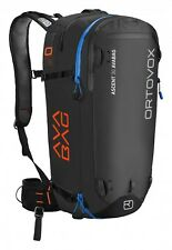 ORTOVOX ASCENT 30 AVALANCHE SAFETY AVABAG BLACK ANTHRACITE NEW