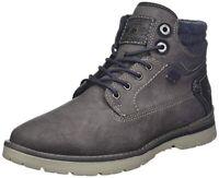 Dockers by Gerli 44BC003 Herren Sportiver Schnürer Sock Sneaker Low Top Schwarz