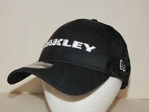 Oakley New Era 9Forty Trucker Hat / Cap Snapback Heather Blackout