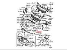 2006 MITSUBISHI LANCER EVOLUTION 9 FRONT LOWER LIP DAM SKIRT OEM 6512A046WA