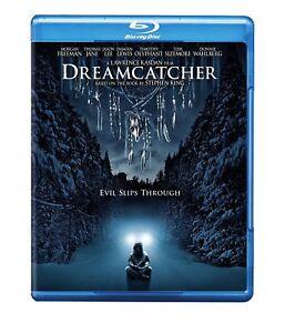 DREAMCATCHER  (2003)  BASED ON NOVEL BY STEPHEN KING  BLU RAY  MORGAN FREEMAN
