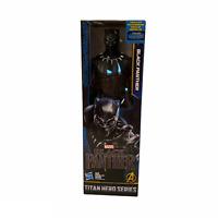 "NEW Marvel Black Panther Movie Titan Hero Chadwick Boseman 12"" Action Figure Toy"