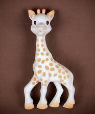 "Sophie giraffe * Vulli * 7""  rubber squeeze doll animal baby toy * no squeak"