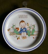 A Mabel Lucie Attwell Boo Boo Warming Plate Do You Know The Laddie...?