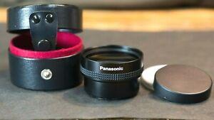 Panasonic Wide Conversion Lens VW-W4907H-K  - Mint Condition